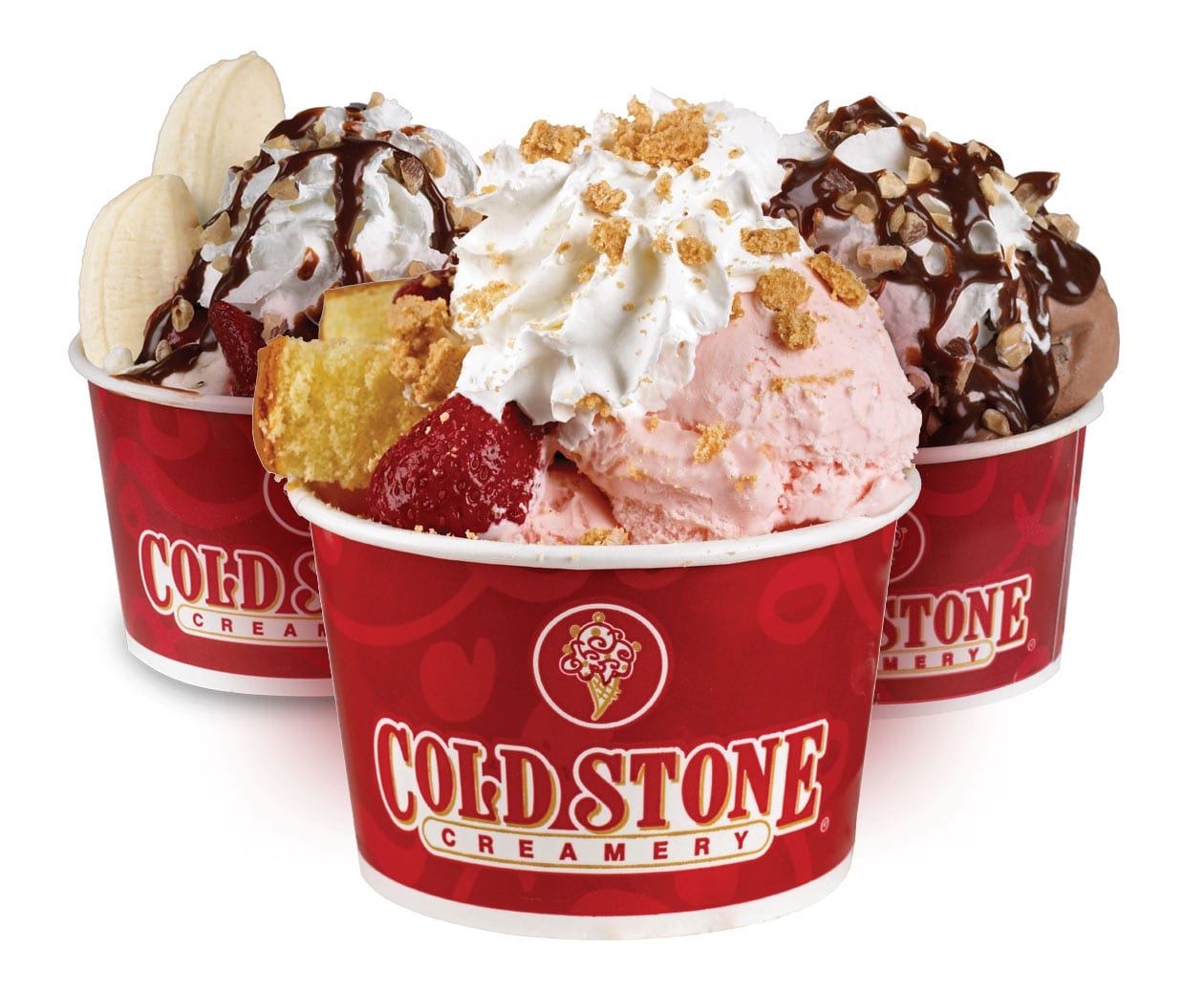 Cold Stone Creamery is one of the most popular ice cream parlors in the United States. They offer a huge variety of different styles and flavors of ice cream.