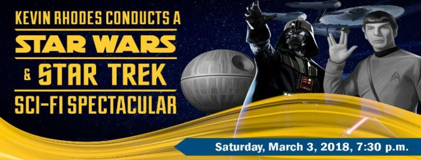 Springfield Symphony Orchestra - Star Wars and Star Trek Sci-Fi