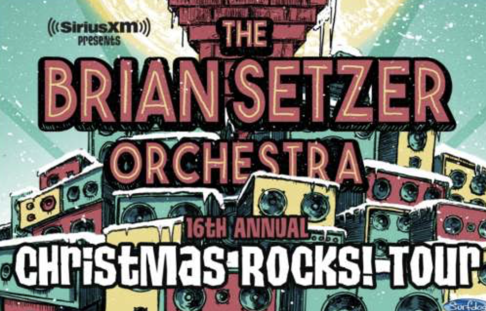 Siriusxm Christmas 2019.Siriusxm Presents The Brian Setzer Orchestra S 16th Annual